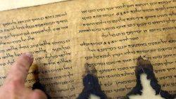 Hallan textos hechos con «tinta invisible» en Rollos del Mar Muerto