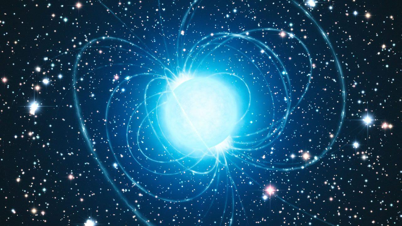 Hallan una extremadamente rara estrella de neutrones supermasiva