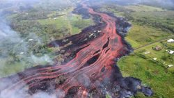 Lava de volcán Kilauea ha alcanzado una planta de energía