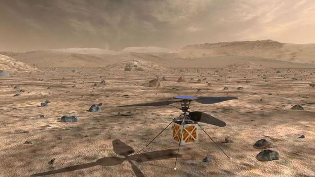 NASA enviará un helicóptero a Marte