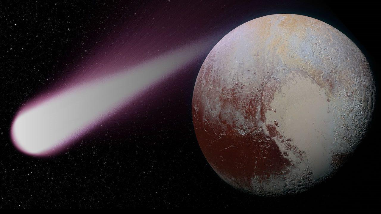 Plutón podría ser un cometa gigante, sugiere nuevo estudio
