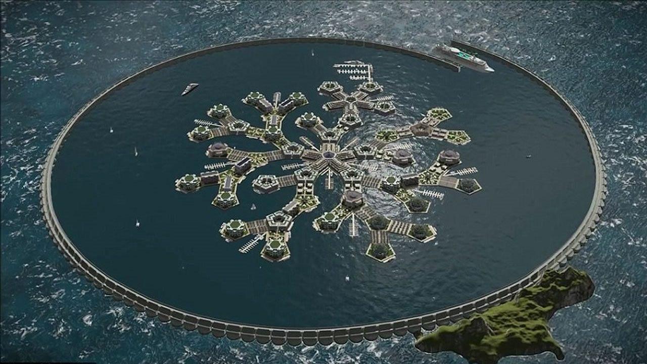 Primera nación flotante en el Océano Pacífico será lanzada en 2022, tendrá su propio gobierno y criptomoneda