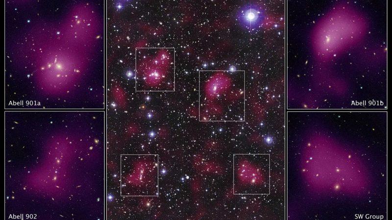 La materia oscura puede ser más antigua que el universo