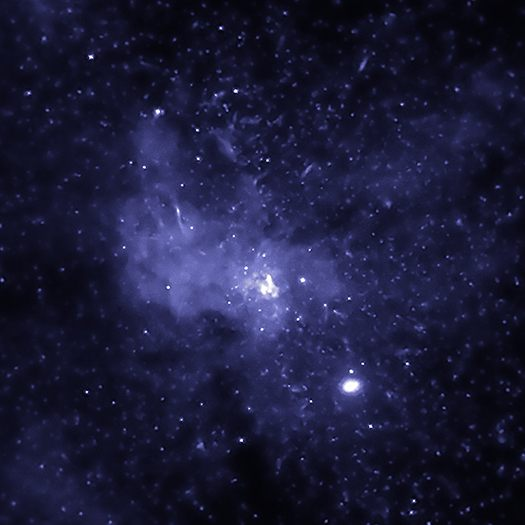 Agujero negro en el centro de nuestra galaxia