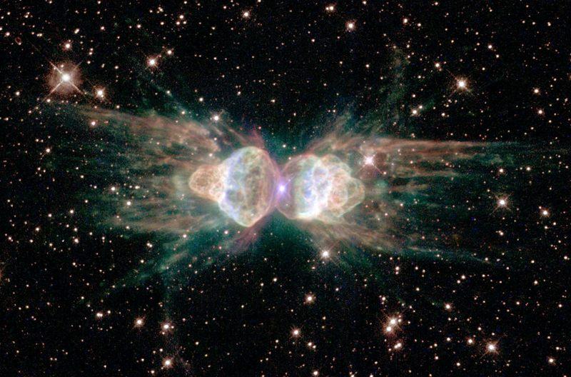 Ant Nebula o Nebulosa de la Hormiga. Se ubica a 3.000 años luz de la Tierra