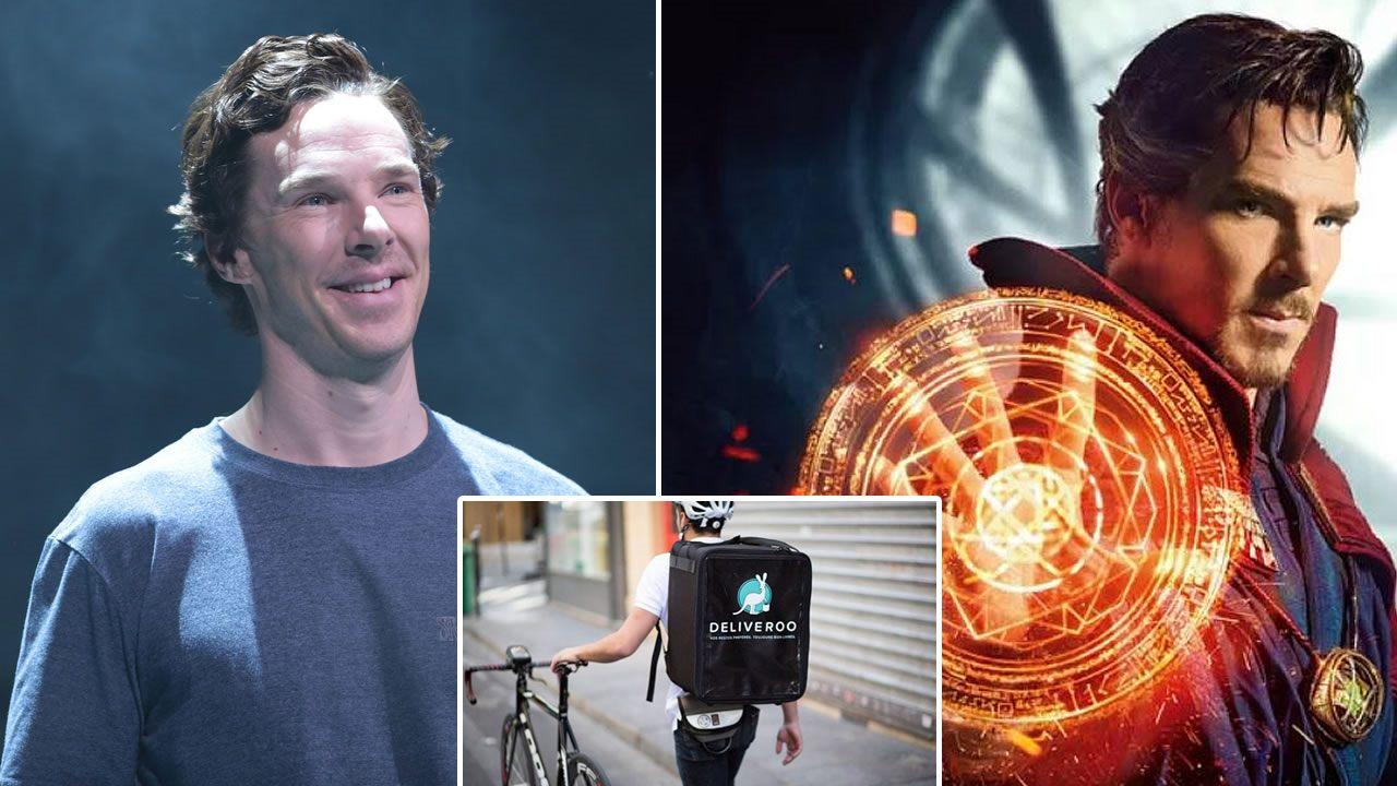 Benedict Cumberbatch se enfrenta a cuatro asaltantes para salvar a ciclista de un atraco
