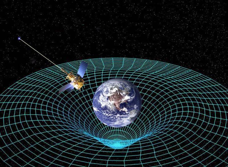 La teoría de la relatividad general de Einstein predice que los objetos masivos deforman el espacio-tiempo que los rodea