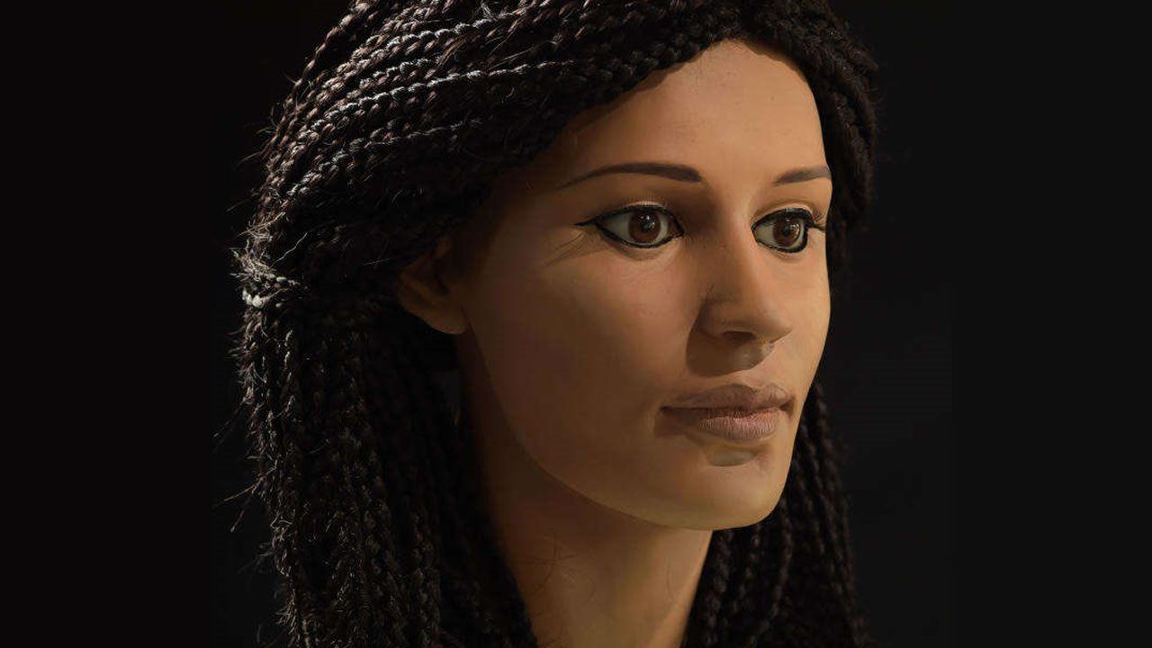 Así es como lucía una mujer en el antiguo Egipto