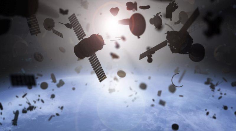 La basura espacial que podría existir alrededor de exoplanetas y exolunas, podría ayudarnos a encontrar civilizaciones alienígenas.