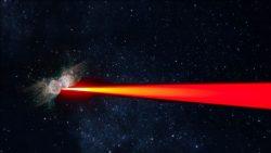 Detectan misteriosos láseres dirigidos a la Tierra provenientes de una nebulosa