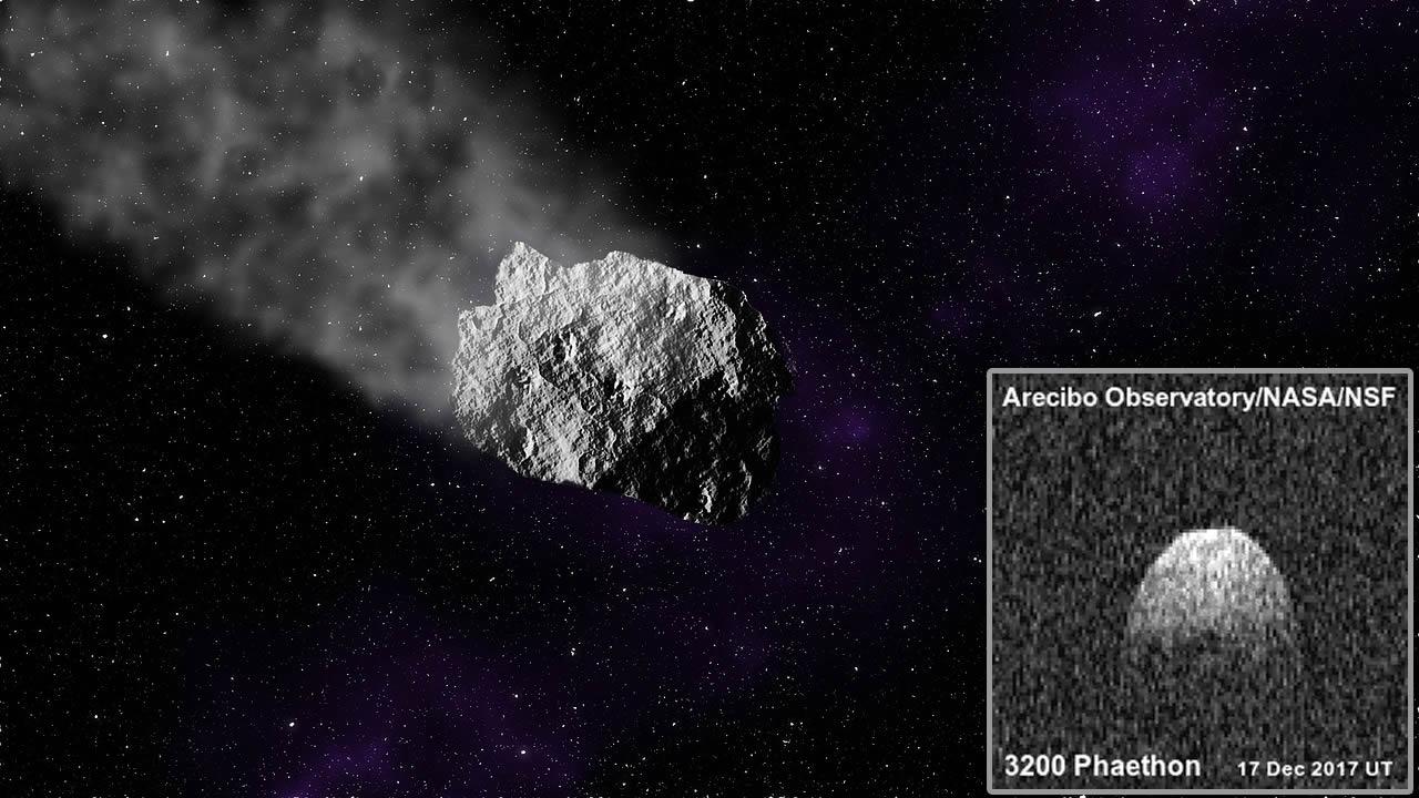 El misterio de Faetón: Astrónomos detectan que asteroide refleja la luz de manera extraña