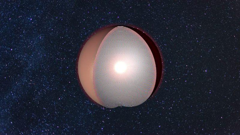 Esfera de Dyson. Estas megaestructuras podrían recolectar la energía de una estrella