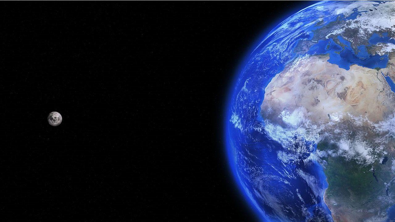 La Tierra se está deteniendo, y la Luna lo está causando