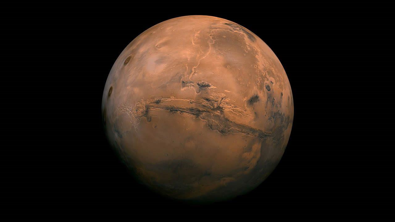 Marte se formó en menos de 10 millones de años, dicen científicos