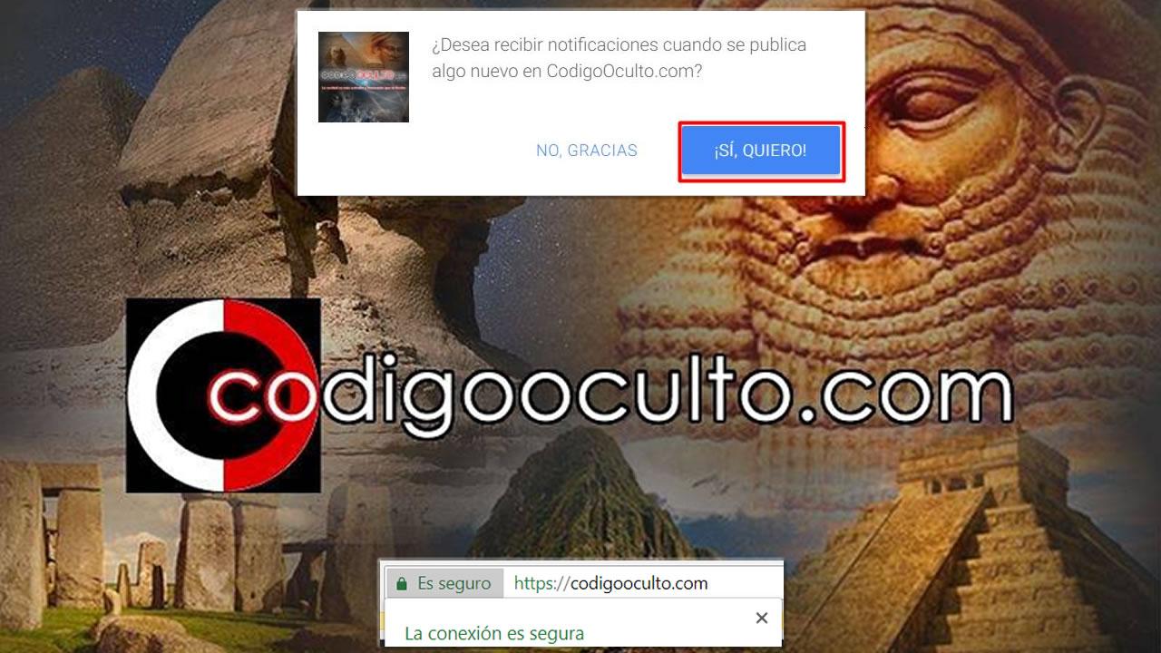 Cambios en CodigoOculto.com: Mejoramos la seguridad y Notificaciones Push