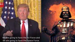 Trump ordena crear una Fuerza Espacial Militar