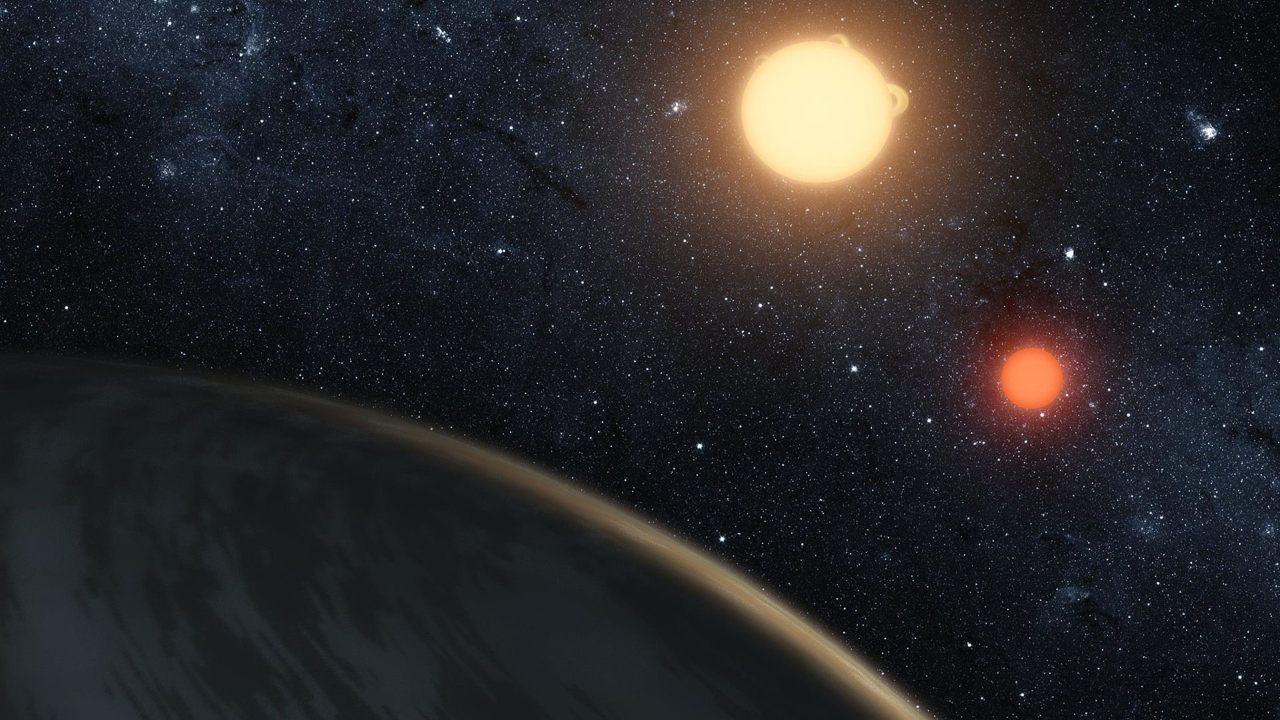 Un planeta alienígena podría sobrevivir con dos o tres soles