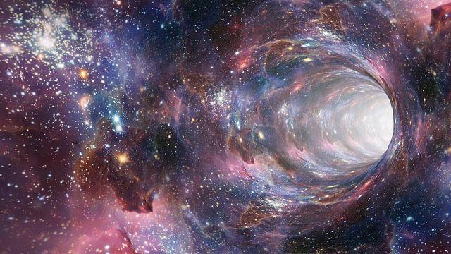 De acuerdo al nuevo estudio, las ondas gravitacionales serían causadas por agujeros de gusano y no por agujeros negros.