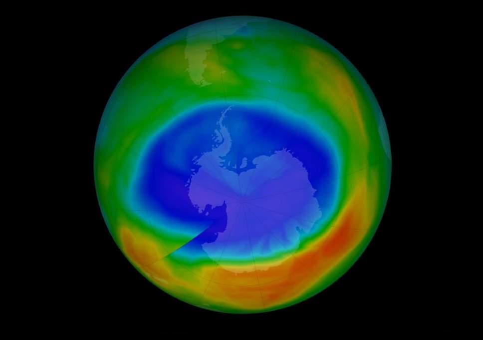 El agujero en la capa de ozono