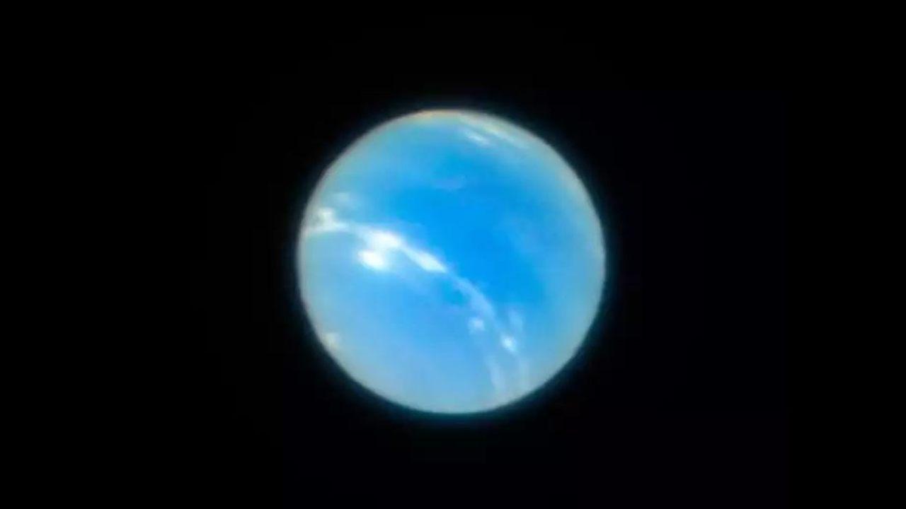 Capturan la imagen más nítida de Neptuno utilizando un telescopio en tierra
