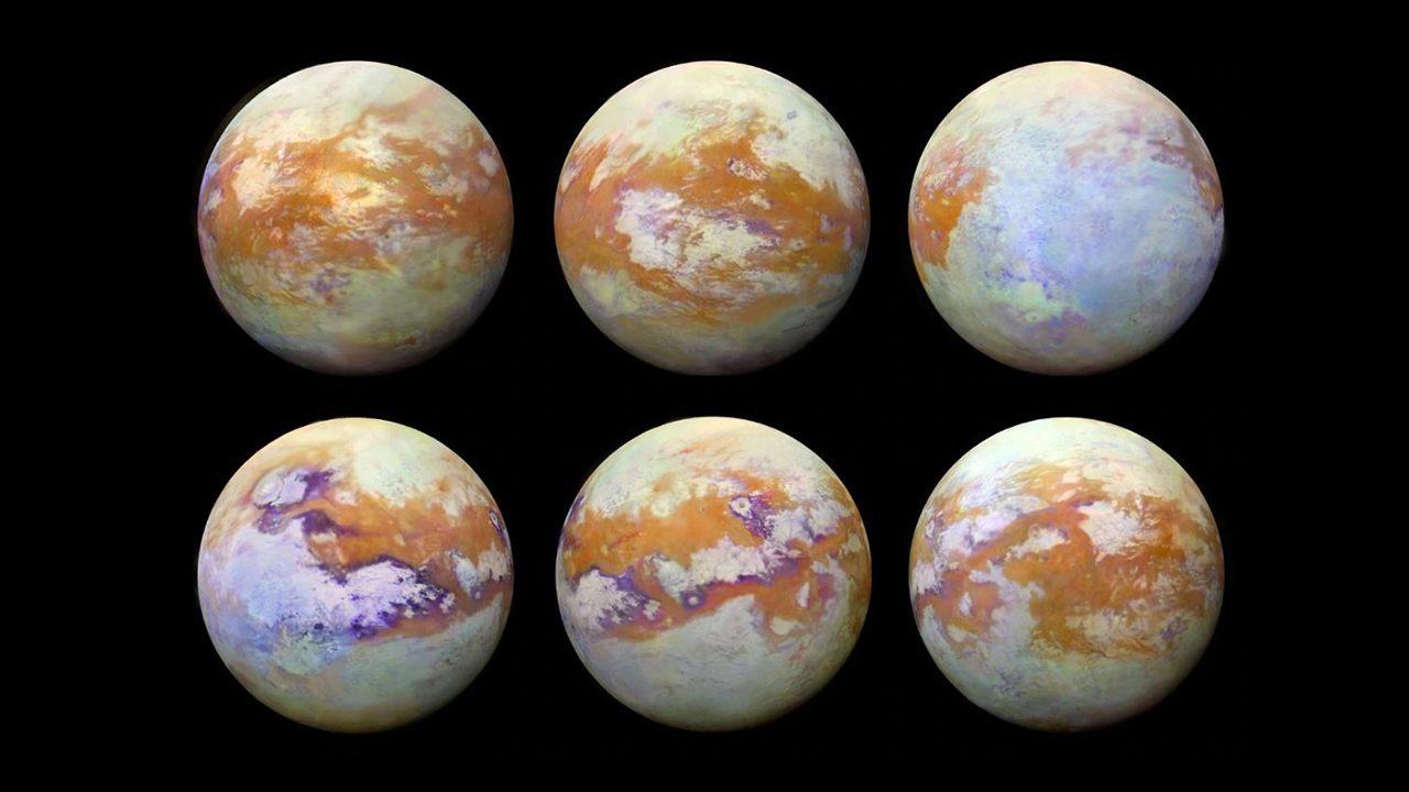 Científicos obtienen las mejores imágenes de Titán, la luna de Saturno