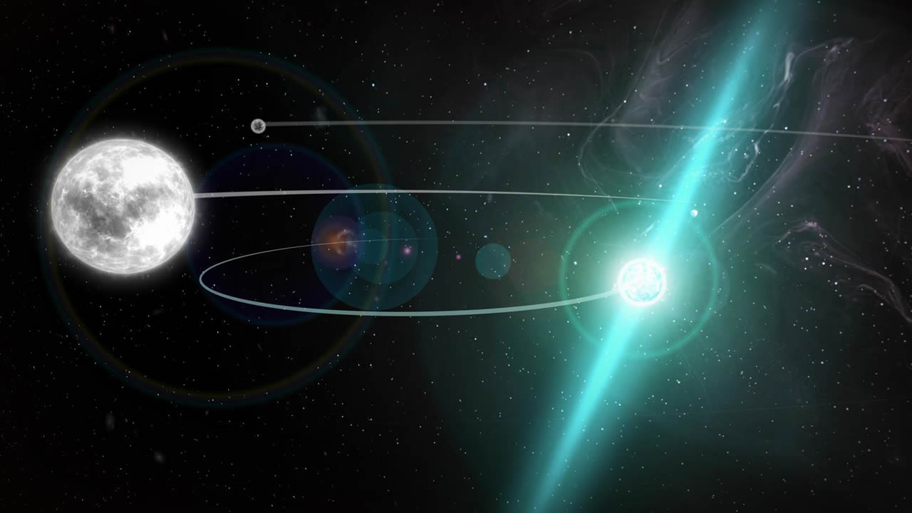 Comprueban la Teoría de la Relatividad General en un entorno de gravedad extrema