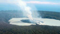 Esta isla del Pacífico será evacuada cuando el volcán explote