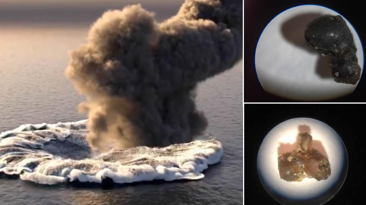 Hallan fragmentos del «meteorito» que impactó en el Océano Pacífico
