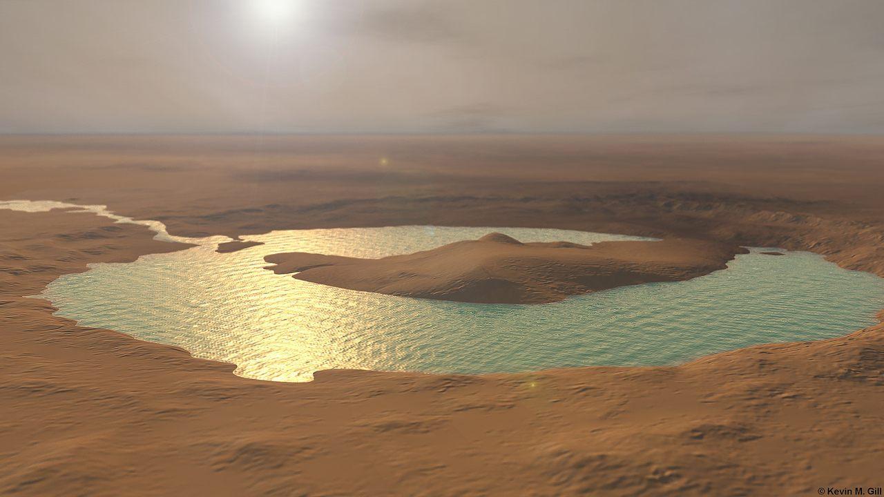 """Resultado de imagen de Agua líquida en Marte"""""""
