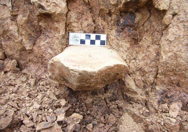 Una de las herramientas del sitio de descubrimiento en Shangchen, China