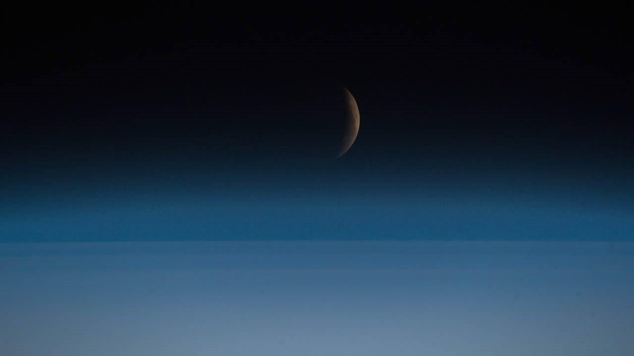 La Luna de Sangre vista desde el espacio y alrededor del mundo