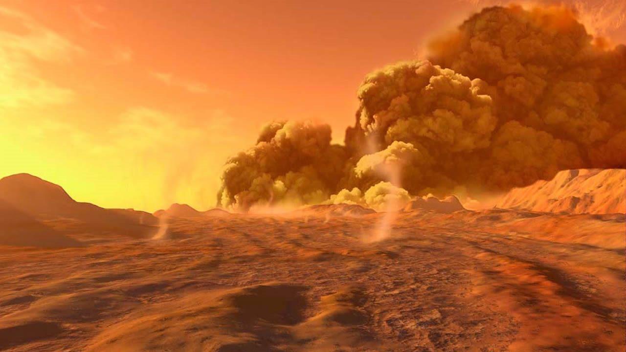 La mayor parte del polvo en Marte proviene de este lugar