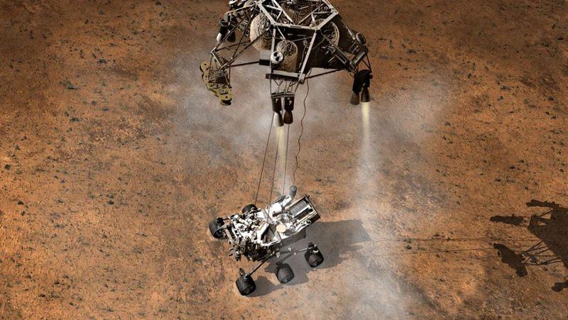 NASA habría quemado «por error» las moléculas de carbono al tratar de encontrar materia orgánica en Marte