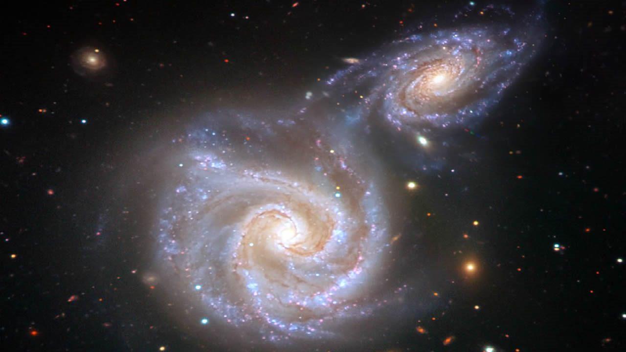 Nuestra Vía Láctea colisionó catastróficamente con una pequeña galaxia hace miles de millones de años