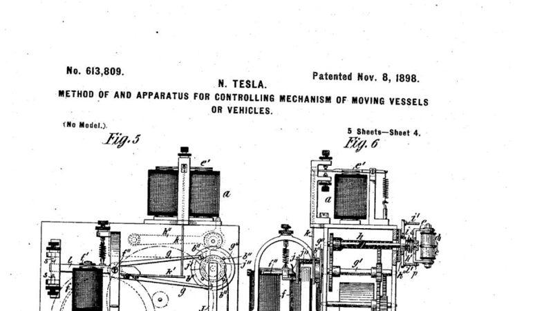 Nikola Tesla: ideas y descubrimientos Patente-drone-nikola-tesla