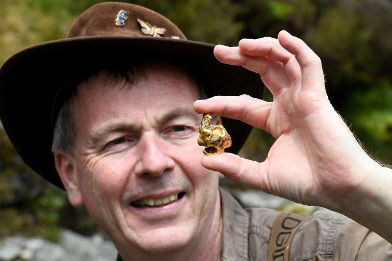 La enorme pepita de oro hallada en Escocia