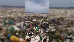 Un anterior «paraíso caribeño» es ahora un «infierno» de la contaminación de plásticos