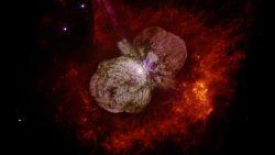 Un sistema de estrellas está disparando rayos de alta energía hacia la Tierra