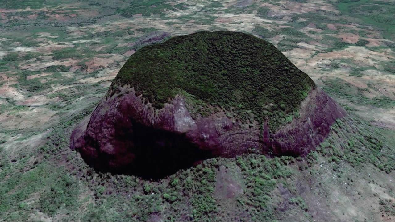 Una selva tropical secreta en el corazón de un volcán africano