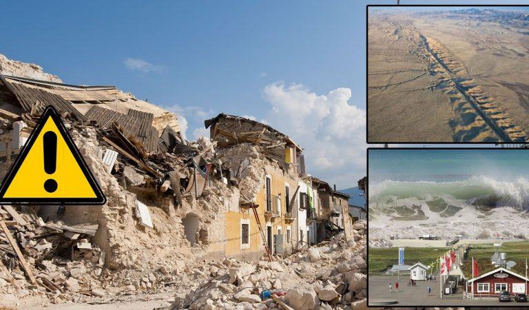 70 temblores en solo 48 horas: Advierten que un megaterremoto podría ocurrir