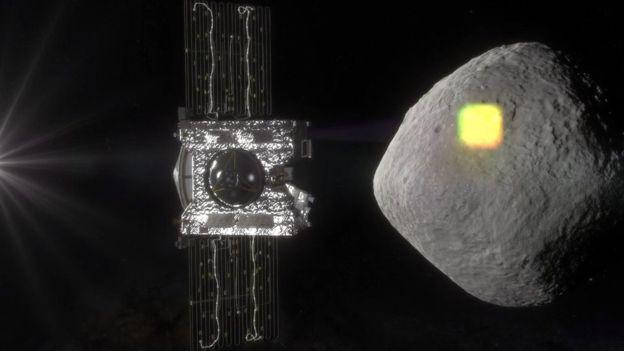 En septiembre iniciará el estudio de la superficie del asteroide Bennu