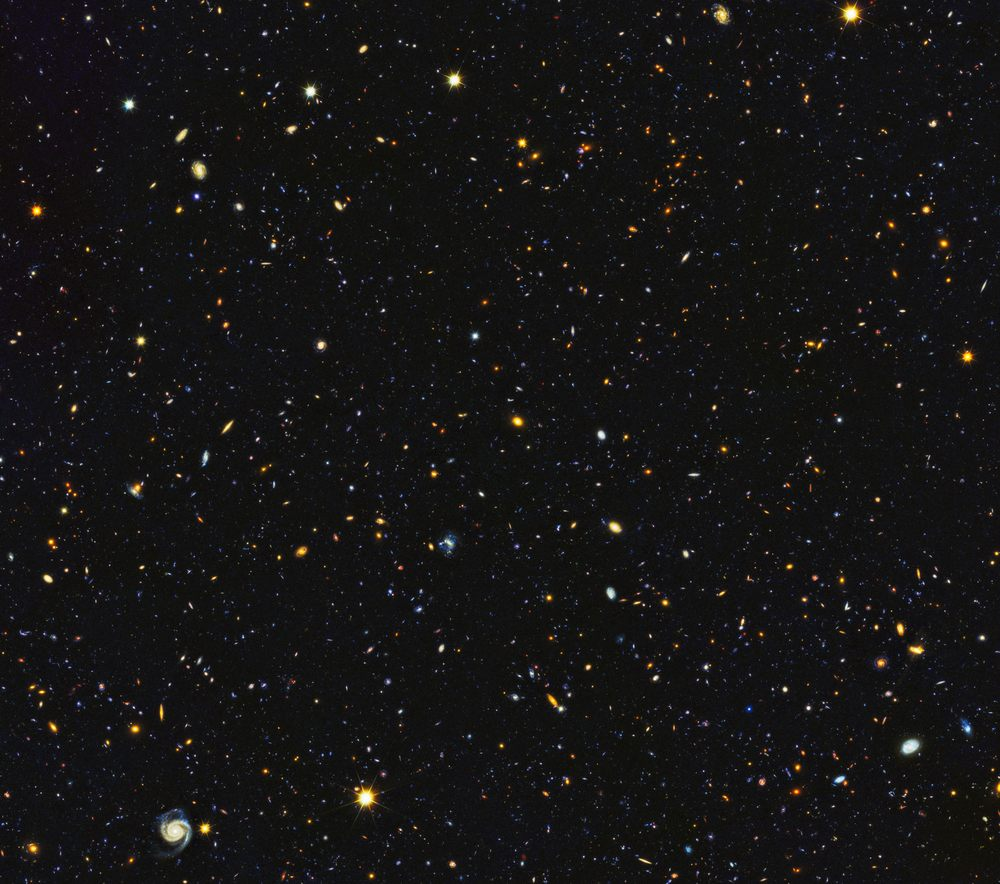 El Universo hace 11 mil millones de años.