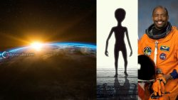 Astronauta dice que vio una posible criatura orgánica y alienígena en el espacio