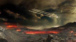 Bombardeo alienígena creó las rocas más antiguas de la Tierra