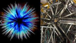 Científicos están desarrollando un mini acelerador de antimateria