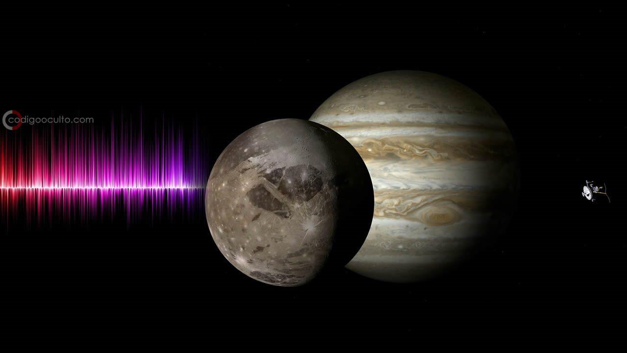 Detectan «ondas extraordinarias» provenientes de Ganímenes, la luna de Júpiter