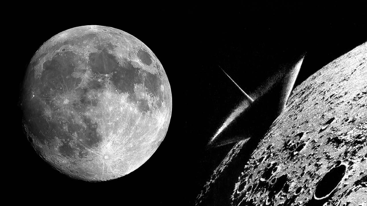 Dos meteoritos impactan en la Luna creando nuevos cráteres (Vídeo)