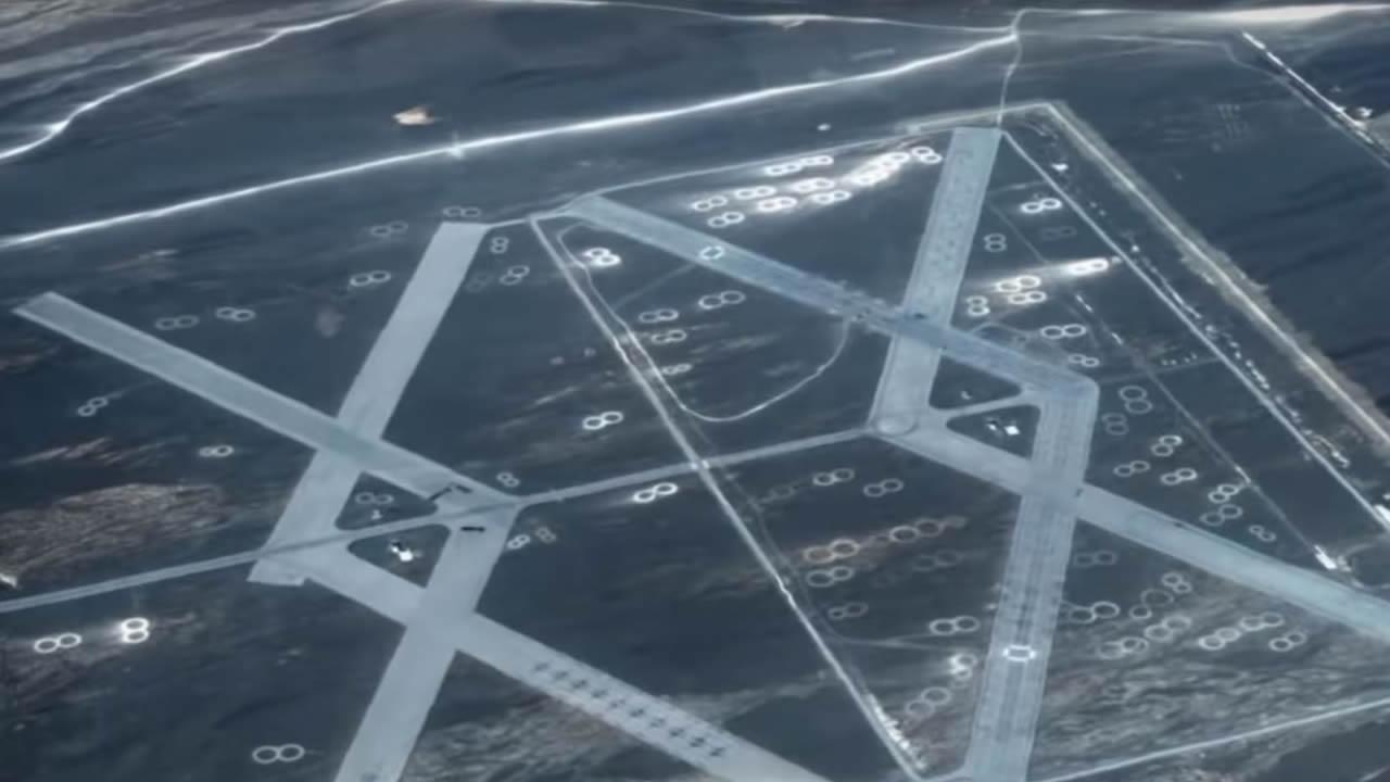 ¿Es esta el «Área 51 de China» ubicada en el desierto de Gobi?