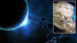 Este meteorito antiguo revela los secretos del nacimiento del sistema solar