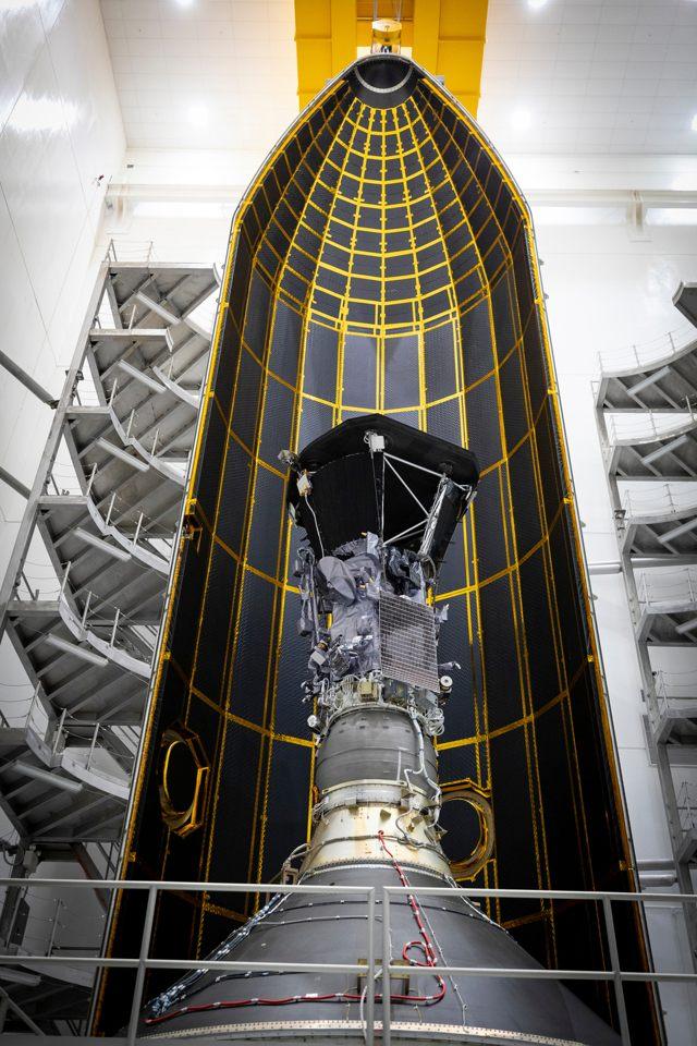 Sonda Parker Solar Probe de la NASA vista por dentro